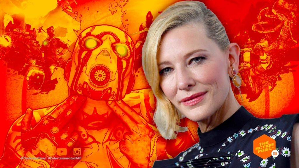 lilith, cate blanchett, lionsgate, the action pixel, entertainment on tap, featured, gearbox software,