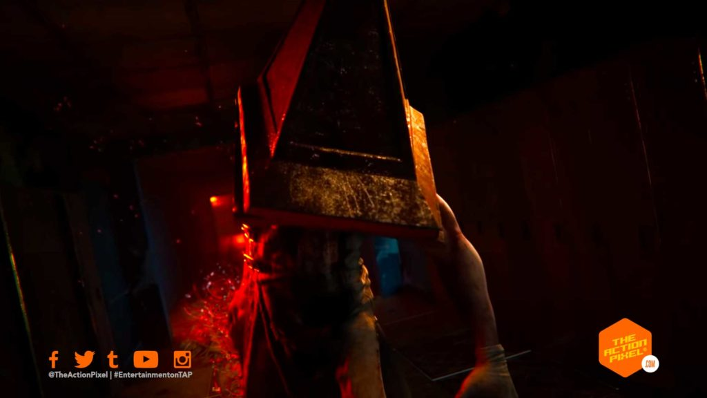 dead by daylight, silent hill, the action pixel, entertainment on tap, pyramid head, the executioner,Cheryl Mason,featured, the action pixel, entertainment on tap,