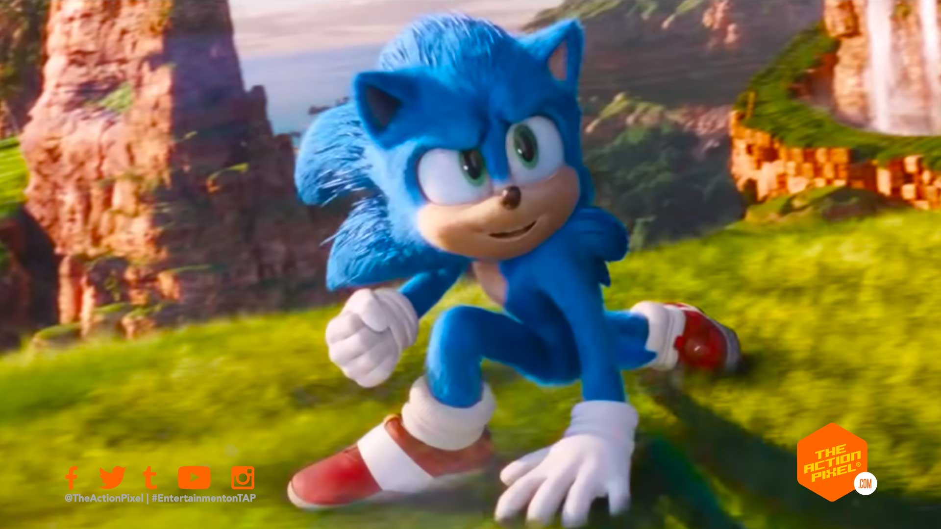 sonic the hedgehog, sonic the hedgehog sequel, paramount, paramount pictures, jeff fowler, the action pixel, entertainment on tap,featured,
