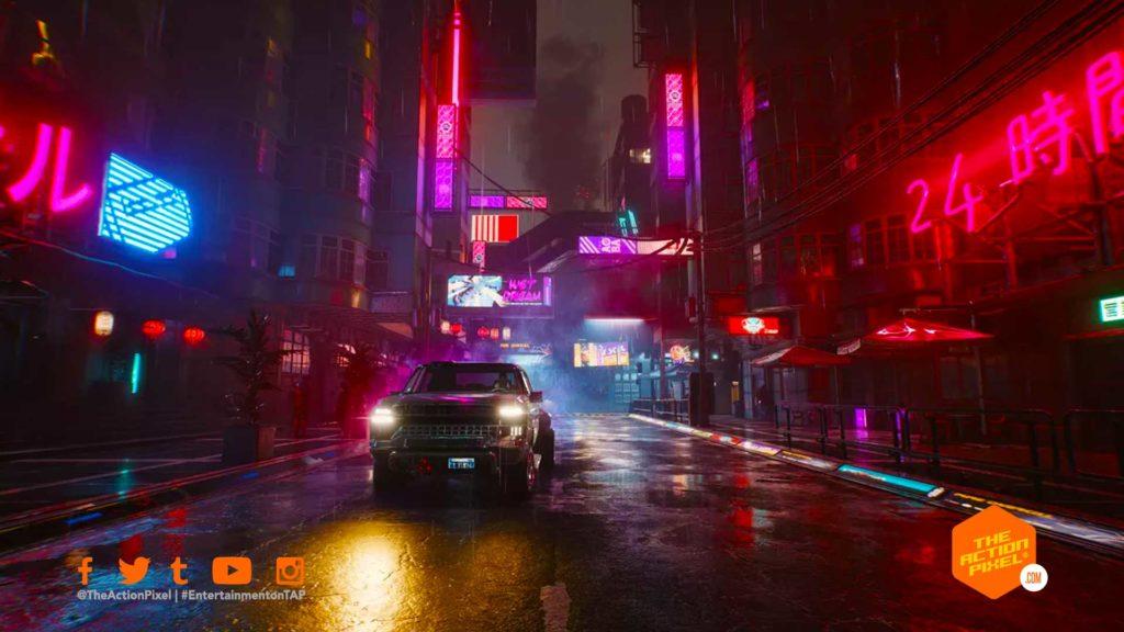 cyberpunk, cyberpunk 2077, the action pixel, entertainment on tap, cd projekt red, cyberpunk 2077 delayed, cyberpunk 2077 release date, featured, cyberpunk 2077 official trailer, cyberpunk 2077 the gig,