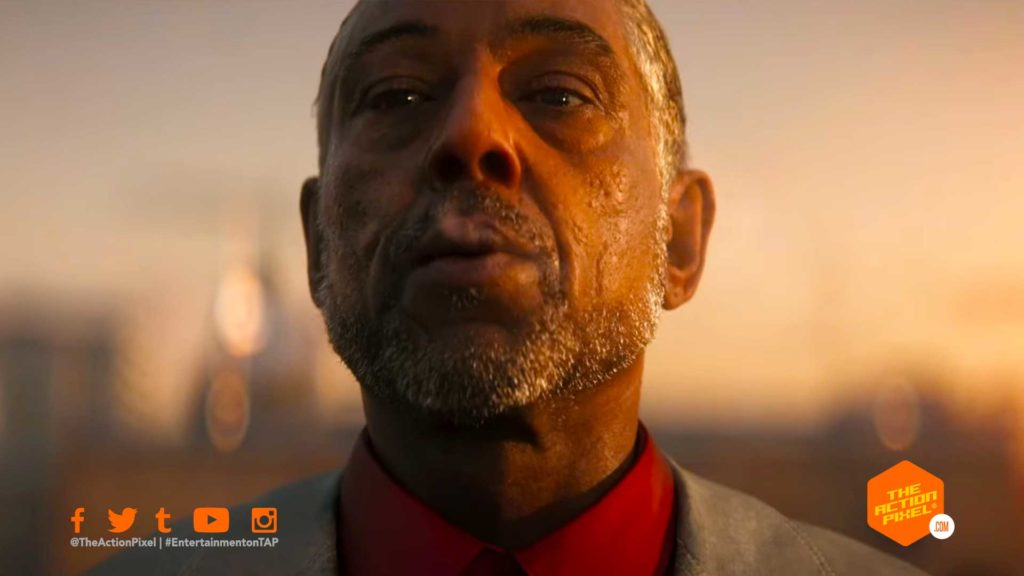 Far cry, far cry 6, trailer, title sequence, cinematic, cinematic title sequence, announce, announce trailer, CGI, CGI Trailer, announcement, CG, Yara, Giancarlo Esposito, fight, fighter, Esperanza, far cry 6 trailer, far cry 6 news, far cry 6 release datE, far cry 6 trailer official, far cry 6 villain, Patrick Clair, Ubisoft, ubisoft games, games, THE action pixel, entertainment on tap, featured