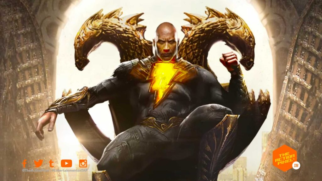 black adam,dc comics, captain marvel, shazam!, black adam, wb pictures, warner bros. warner bros. pictures, entertainment on tap, the action pixel, dwayne johnson, the rock,alex ross,black adam premiere date, black adam release date, dc fandome, dwayne johnson