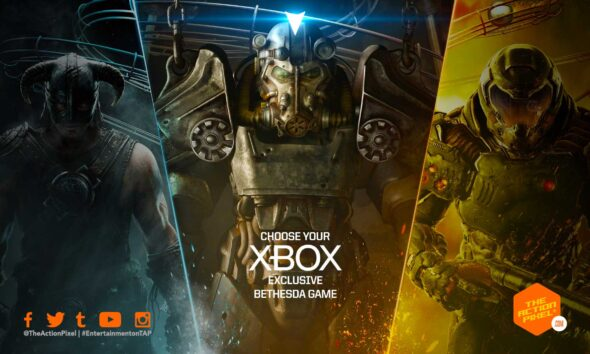 Fallout, The Elder Scrolls, Doom, Wolfenstein, Dishonored, xbox, xbox bethesada, xbox bethesda deal, microsoft buys bethesda, entertainment on tap,featured, PHIL SPENCER, IS BETHESDA GAMES NOW EXCLUSIVE TO XBOX,