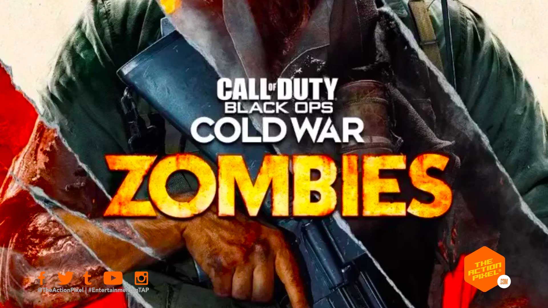Call Of Duty Black Ops Cold War Peels Away The Last Meager Flecks Of Humanity To Reveal The Return Of Zombies The Action Pixel