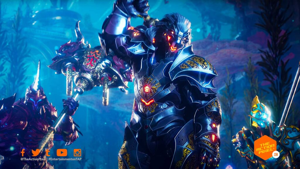 godfall, playstation 5, godfall combat trailer, entertainment on tap, the action pixel