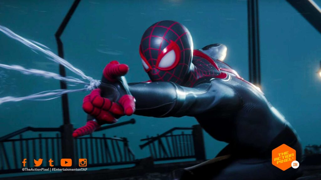 spider-man, spiderman, marvel's spider-man: miles morales, spider-man: miles morales gameplay, spider-man miles morales,spiderman miles morales gameplay demo, the action pixel, entertainment on tap,