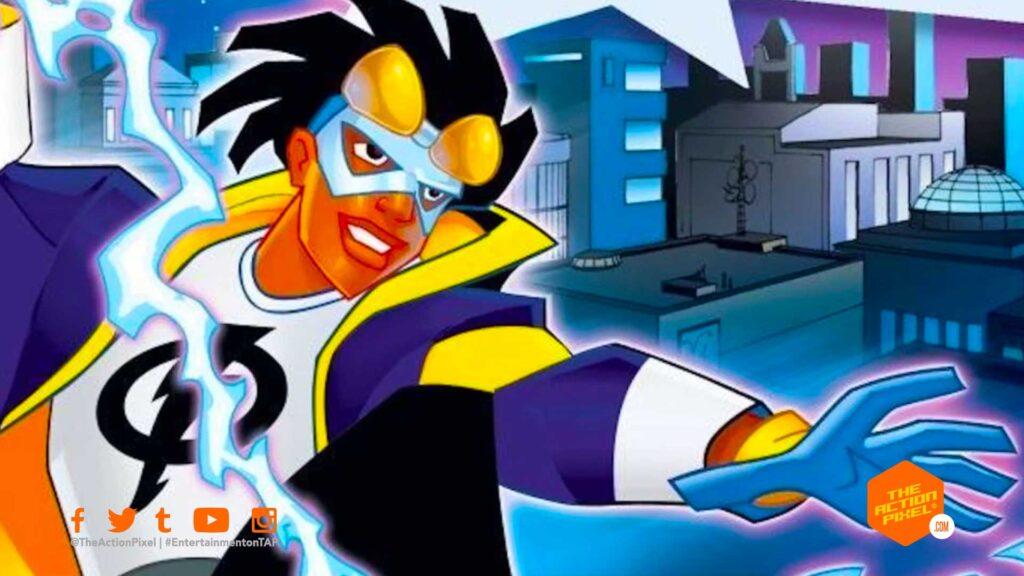 static shock, milestone media, dc comics, static shock movie, dc comics static shock, dc comics movie,dc comics' static shock, the action pixel, entertainment on tap, virgil hawkins,