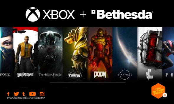 Fallout, The Elder Scrolls, Doom, Wolfenstein, Dishonored, xbox, xbox bethesada, xbox bethesda deal, microsoft buys bethesda, entertainment on tap,featured,