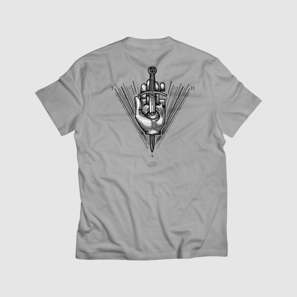 true absolute power, gamer, tshirt, t-shirt, tshirt lover, tshirt print, t-shirt design, macabre, tshirt for sale, dagger, hand,