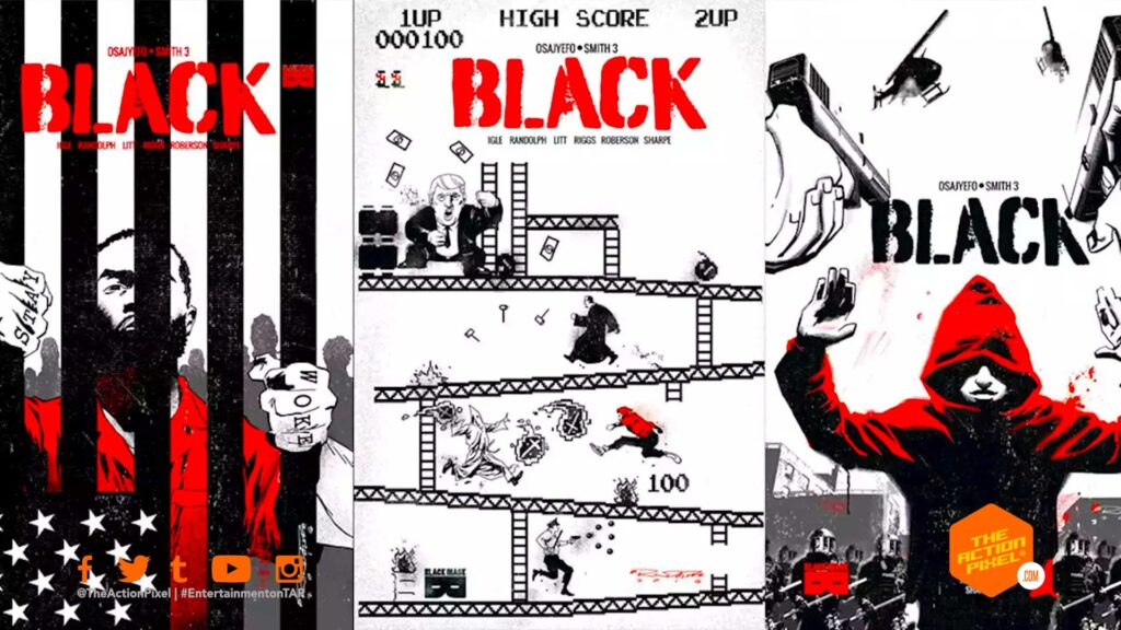 Bryan Edward Hill, black mask, studio 8, black, black comic, black series, comic book movie, Kwanza Osajyefo ,Tim Smith 3, entertainment on tap , the action pixel, race, black superheroes,warner bros, wb pictures,warner bros pictures, studio 8,