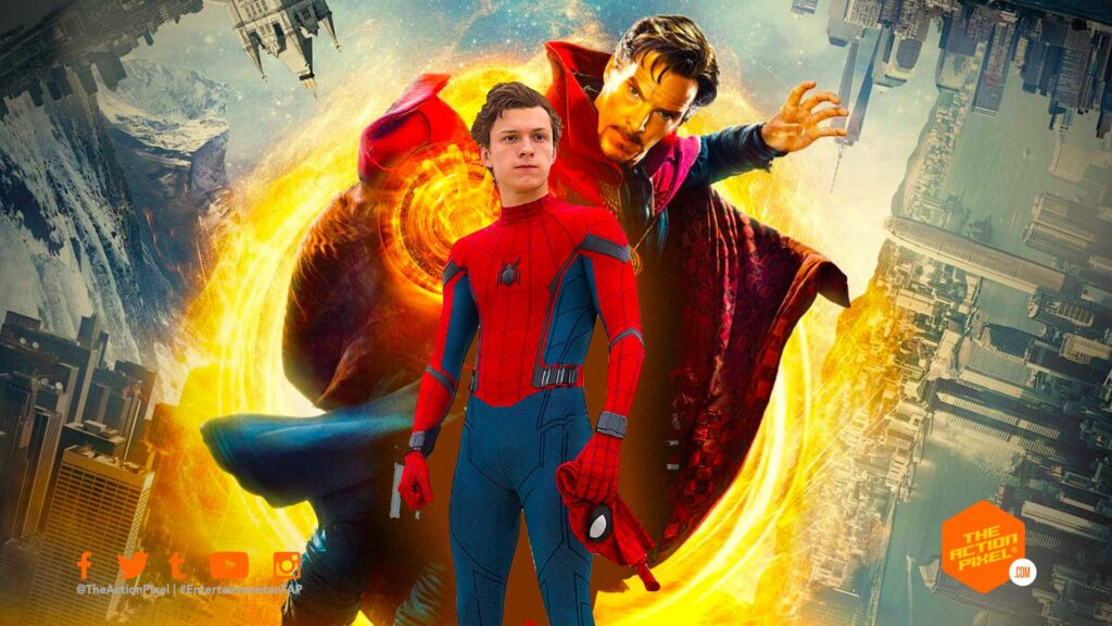 doctor strange, doctor strange in the multiverse of madness, the action pixel, entertainment on tap, spider-man, spider-man 3, entertainment on tap, peter parker, benedict cumberbatch, tom holland, sony pictures, marvel studios, mcu spiderman, mcu spider-man, spider-man 3 movie, mcu spiderman 3,