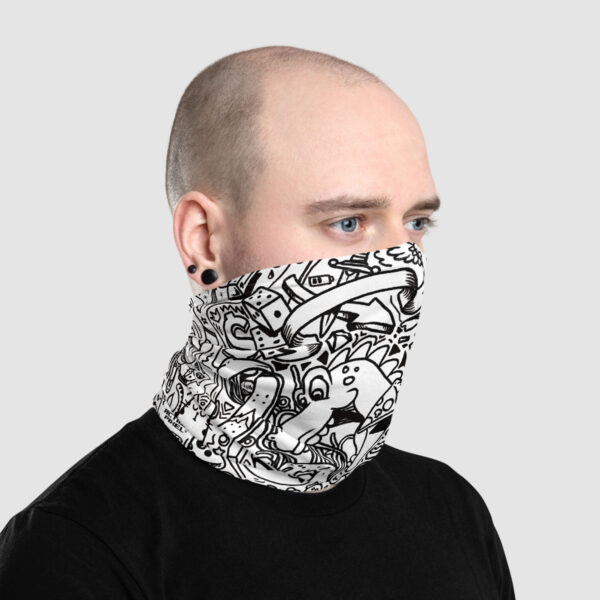 doodles, doodle, doodle game,doodle games, pattern ,headscarf, face covering, the action pixel, entertainment on tap, style on tap, wristband, headband, face covering , neck warmer, neck gaiter,