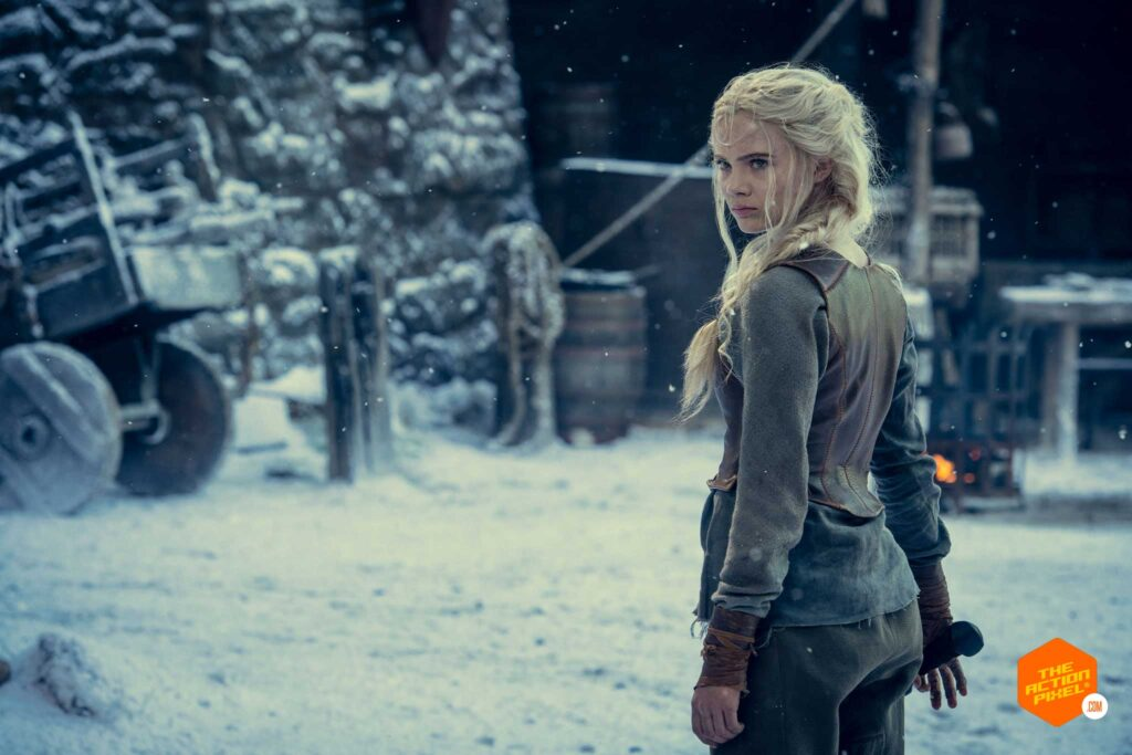 ciri,freya allan , the witcher, the witcher season 2, entertainment on tap, featured, the action pixel, henry cavill, geralt of rivia, geralt, the white wolf, entertainment on tap,
