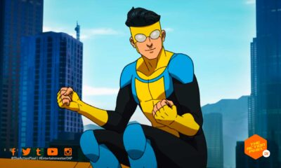 Invincible trailer, invincible animated series, invincible, amazon, prime video, robert kirkman, jk simmons, steven yeun, the action pixel, entertainment on tap, featured, invincible trailer, invincible teaser trailer,