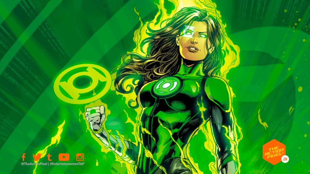 simon baz, jessica cruz, the action pixel, entertainment on tap, the green lantern corps, green lanterns, green lantern, guy gardner ,kilowog,alan scott, red lanterns, orange lanterns, hbo max, green lantern corps hbo max, green lantern corps tv series,