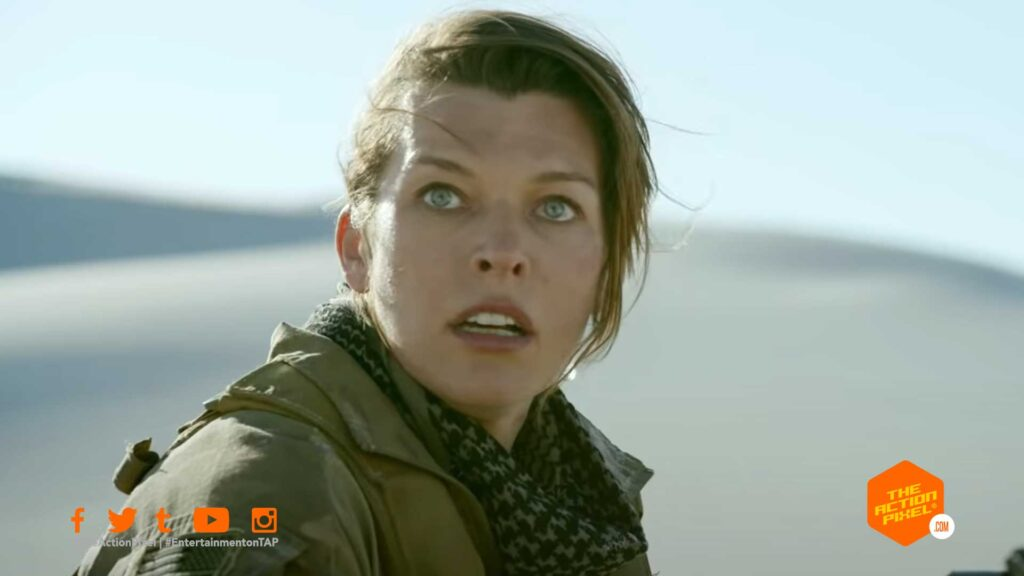 milla jovovich, Lieutenant Artemis,monster hunter, the hunter ,featured, capcom, video game movies,tony jaa,ti rapper,t.i., ti, black diablos, monster hunter teaser, monster hunter trailer,