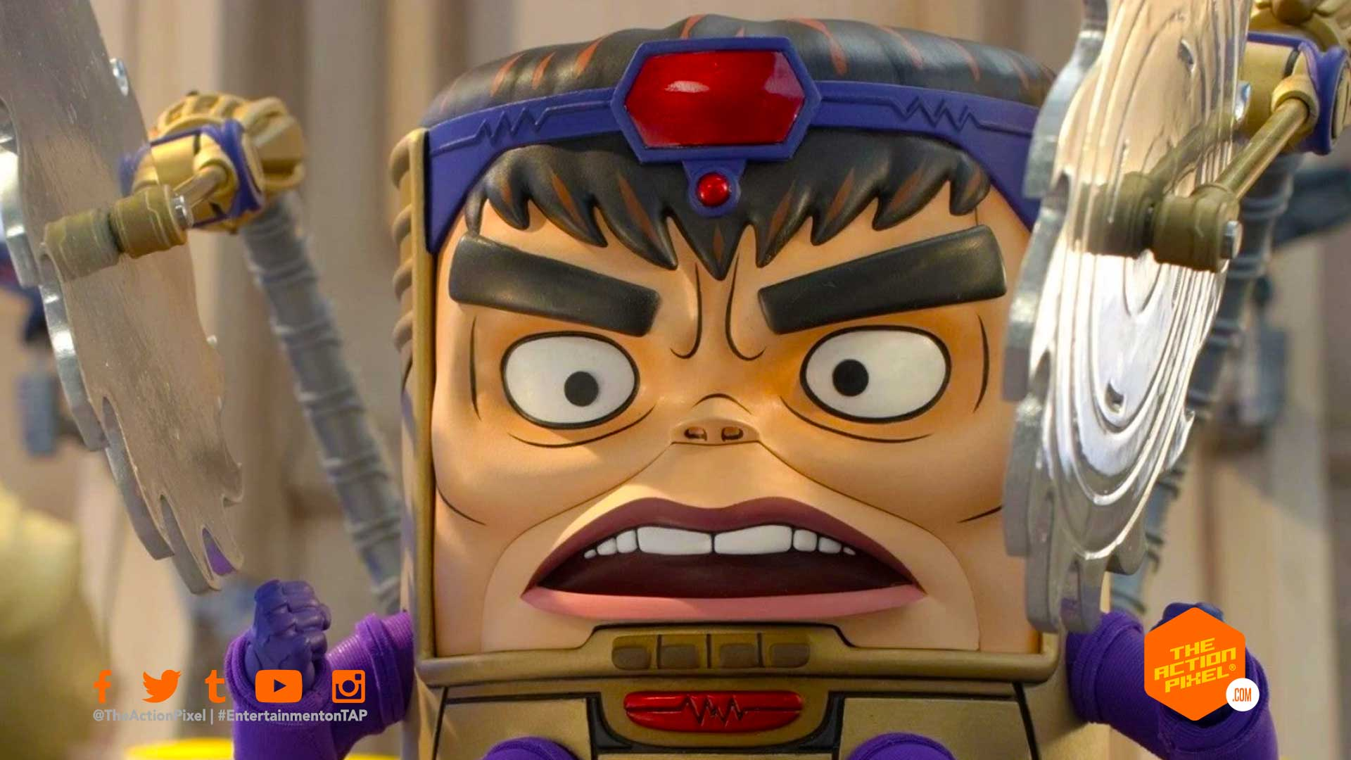 modok, hulu original , m.o.d.o.k., entertainment on tap, the action pixel, marvel's modok, marvel's M.O.D.O.K., featured,
