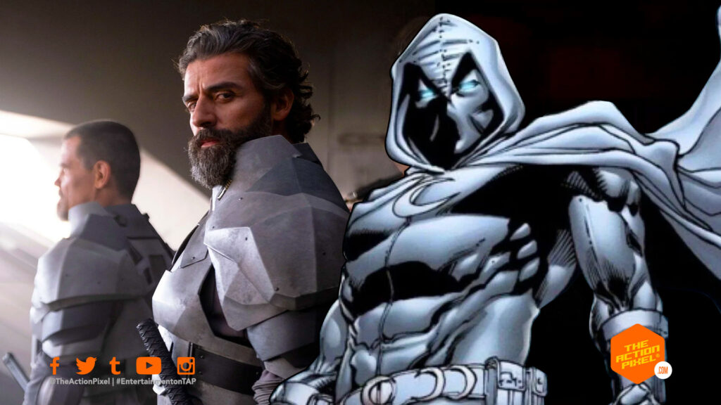 moon knight, oscar isaac, marvel studios, marvel disney plus shows, disney plus, disneyplus, disney+ , disney + , moon knight, moon knight show, moon knight disney plus, the action pixel, entertainment on tap,