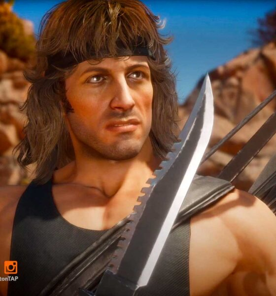 rambo, mortal kombat 11 ultimate,mk11 ultimate, mortal kombat 11 ultimate kombat pack 2, rambo,sylvester stallone, featured, entertainment on tap,
