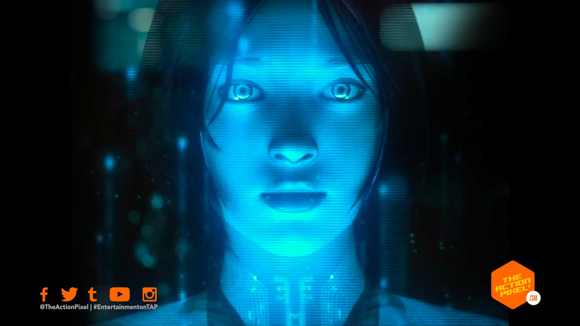 cortana, halo, halo tv series, showtime halo, halo live action tv series, jen taylor,