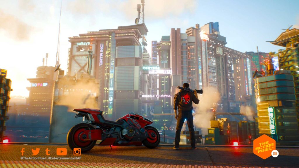 cyberpunk 2077, cyberpunk 2077 gameplay, cyberpunk 2077 gameplay trailer,cd projekt red, the action pixel, entertainment on tap, keanu reeves, featured