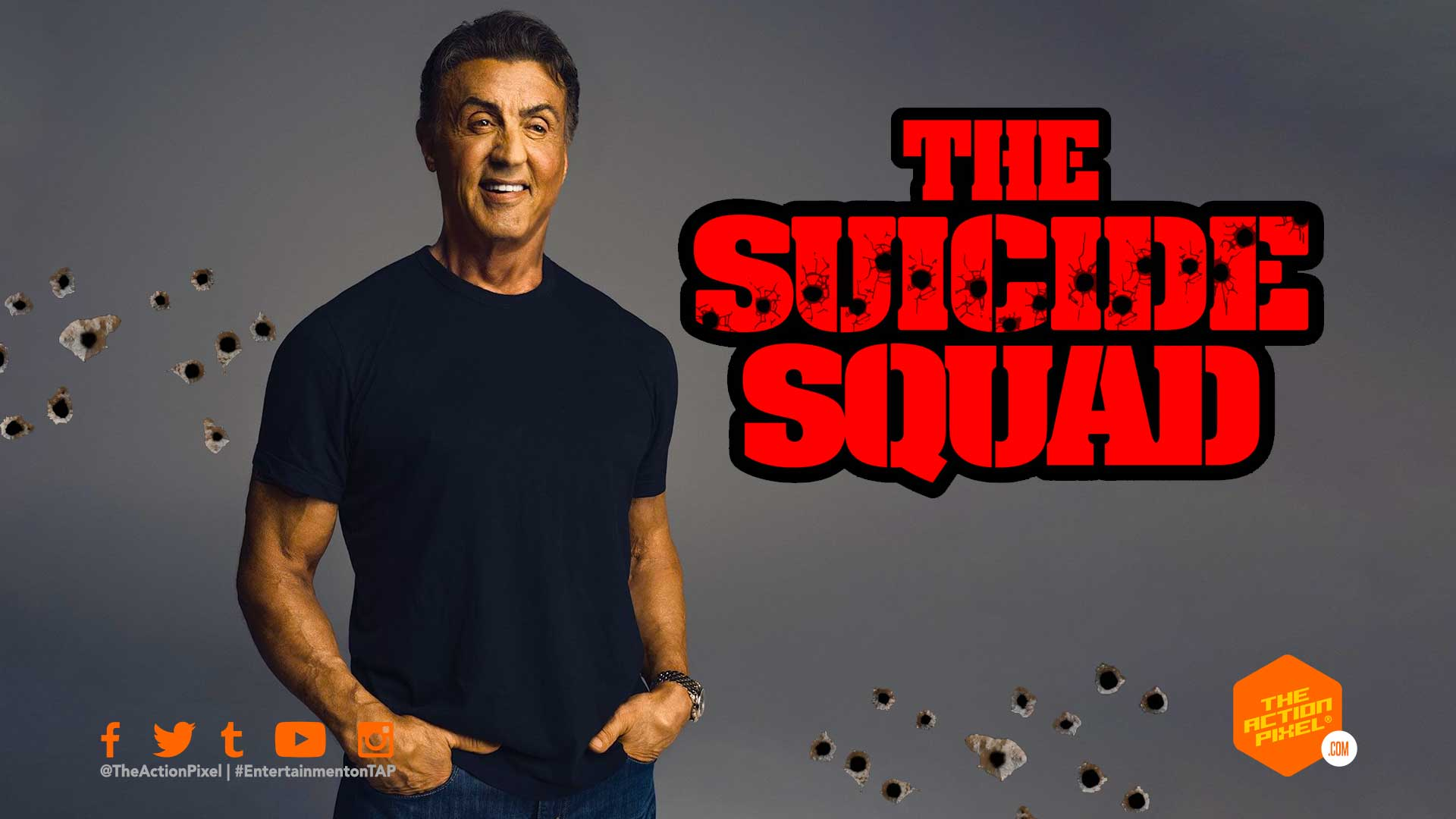 sylvester stallone, the suicide squad, james gunn, dc comics, the suicide squad reboot, the suicide squad movie , dc comics, entertainment on tap, the action pixel,
