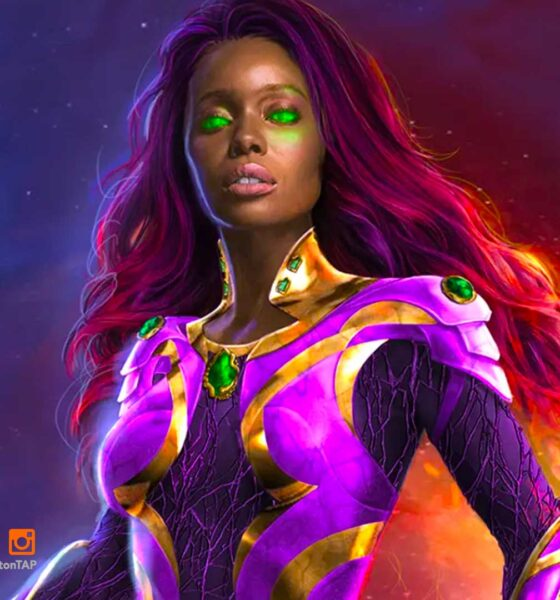 anna diop, starfire, titans, titans season 3, dc comics, hbo max, the action pixel, entertainment on tap , featured,