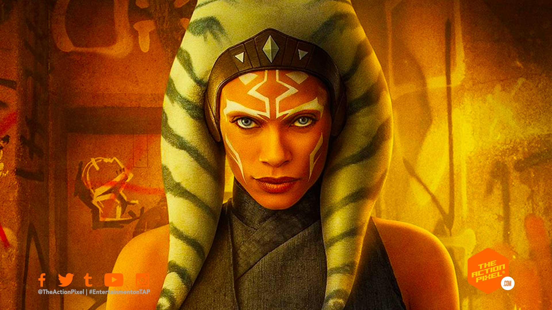 ahsoka tano, star wars, the mandalorian, the mandalorian season 2, entertainment on tap, rosario dawson, entertainment on tap, the action pixel,