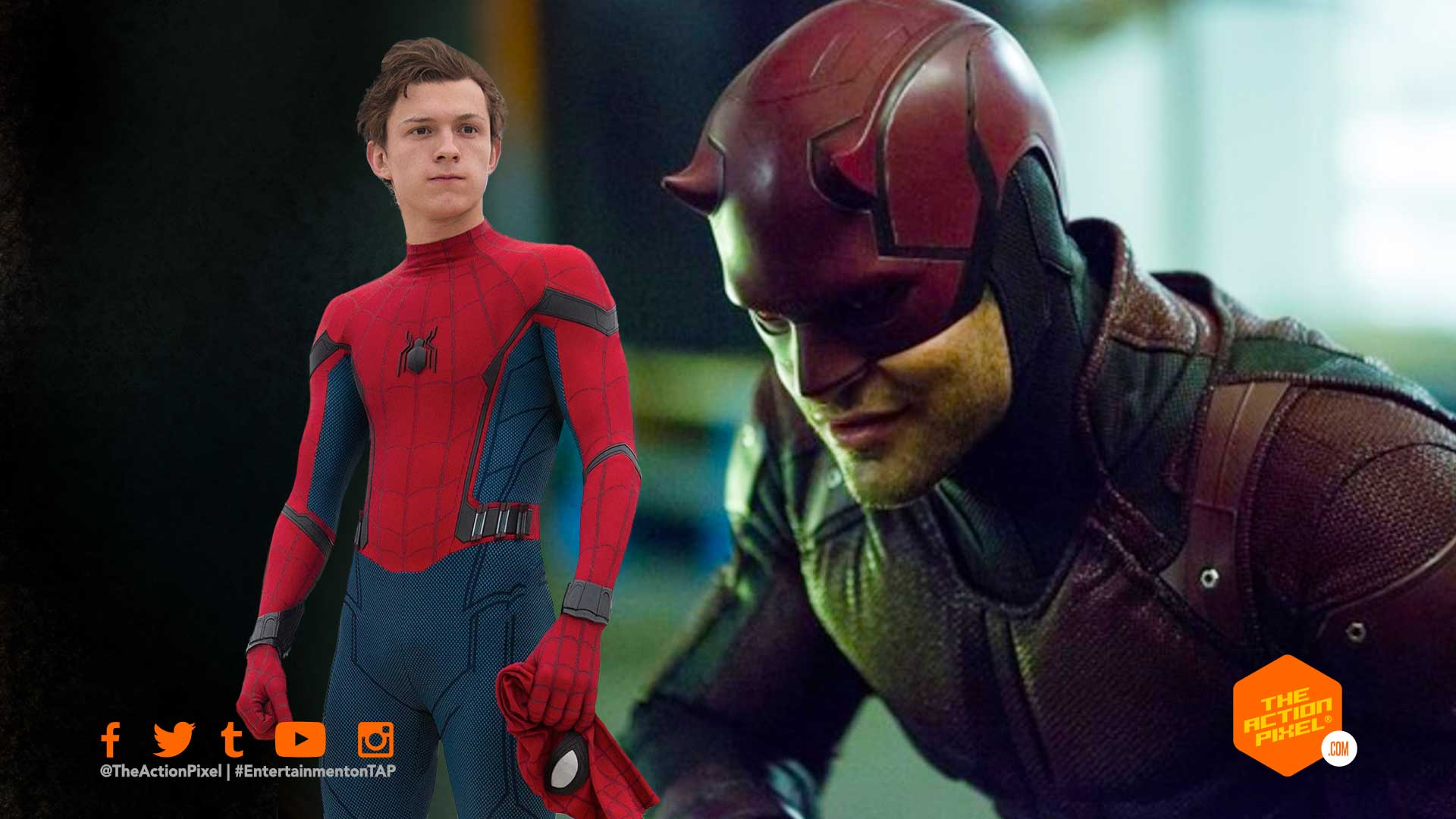 daredevil, spider-man, spider-man 3, daredevil charlie cox, daredevil netflix, sony pictures, spider-man 3 movie, entertainment on tap,the action pixel, featured,