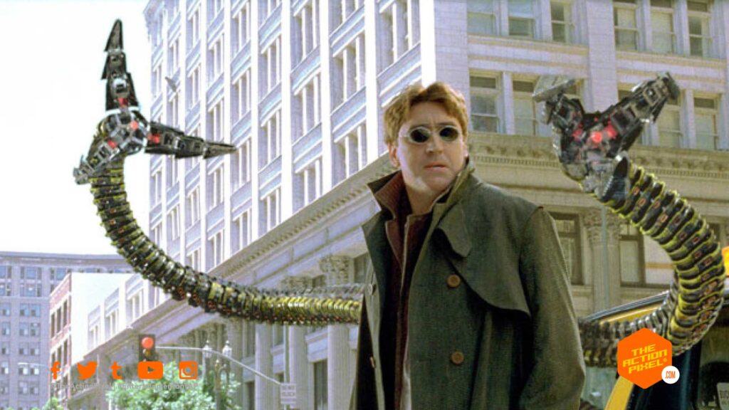 doc ock, alfred molina, doctor octavius, doc oc, spider-man, spider-man 3, spiderman, spider man, marvel ,sony pictures, entertainment on tap, featured,spider-man 2, the action pixel, entertainment on tap, entertainment news,
