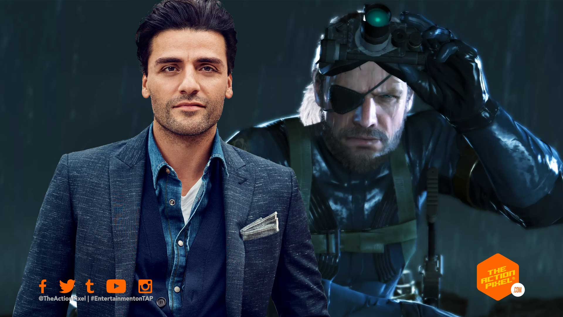 oscar isaac, metal gear solid, the action pixel, featured, konami, hideo kojima, metal gear solid movie, solid snake, metal gear solid casting