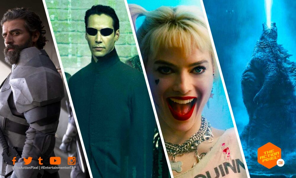 warner bros. pictures, the action pixel, entertainment on tap, hbo max, wb, dune, mortal kombat movie, mortal kombat, dune movie, matrix 4, matrix 4 release date, godzilla vs king kong, the suicide squad, the suicide squad release date,