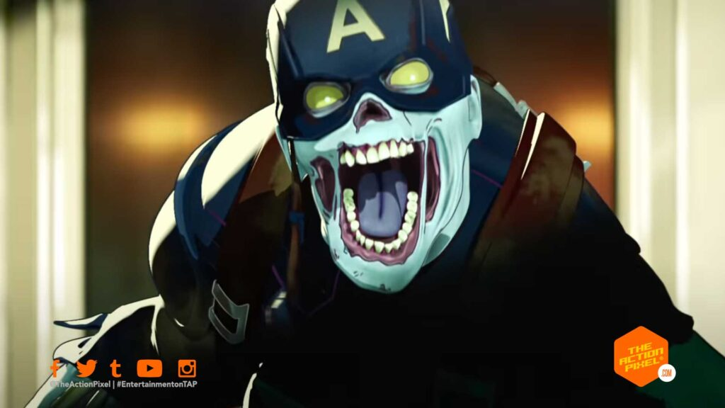what if , what if...?, marvel studios what if,marvel what if...?, what if, captain america, marvel zombies, entertainment on tap, the action pixel,