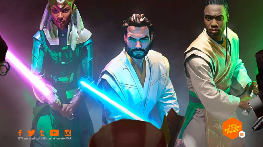 the high republis,star wars,star wars the high republic, entertainment on tap, the action pixel, lucasfilm, launch trailer,