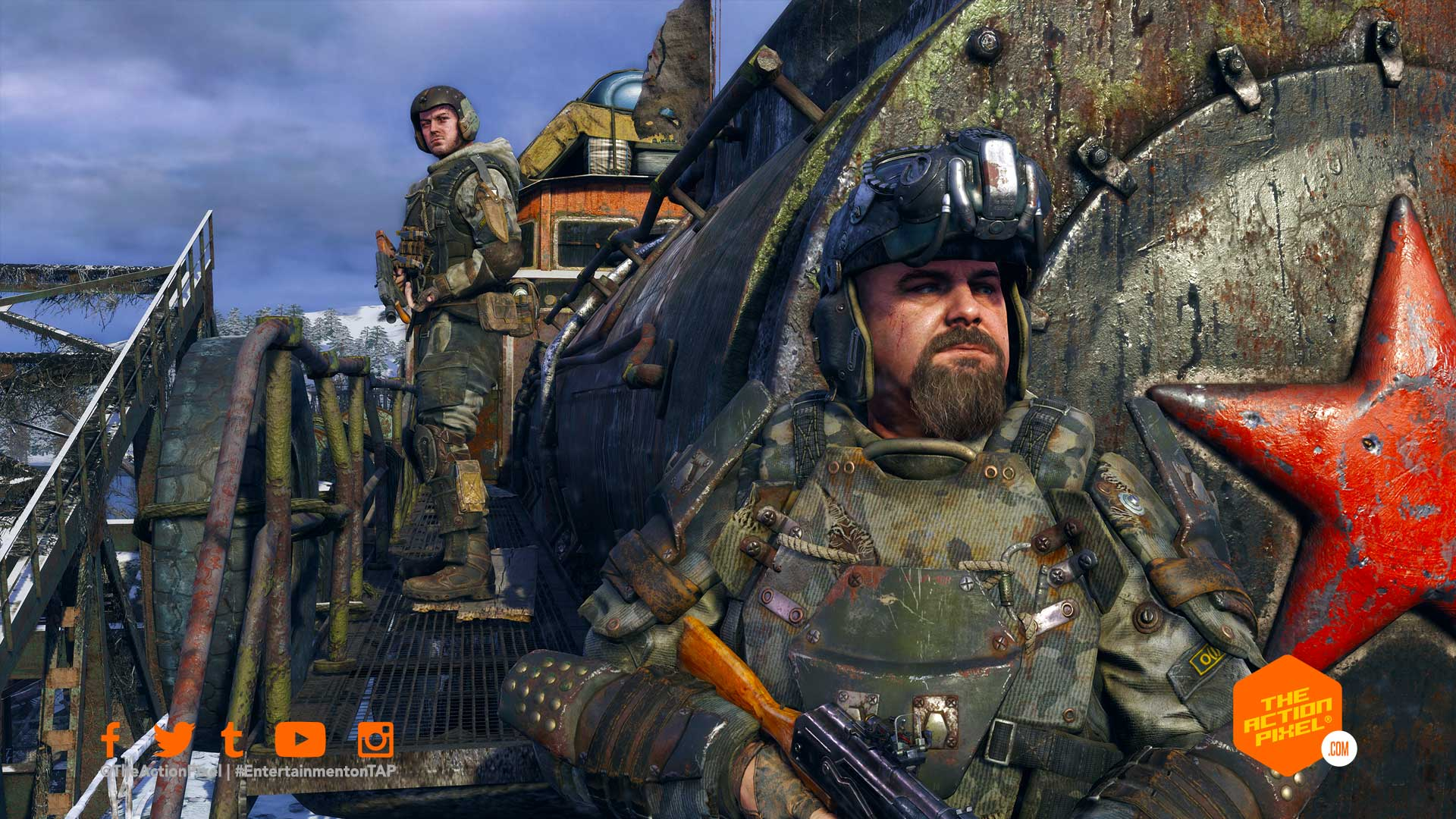 metro exodus, 4A games, deep silver games, deep silver, xbox series s, xbox series x, playstation 5, ps5 ,playstation, dual sense, metro exodus nex gen, metro exodus new features, entertainment on tap, featured, the action pixel,