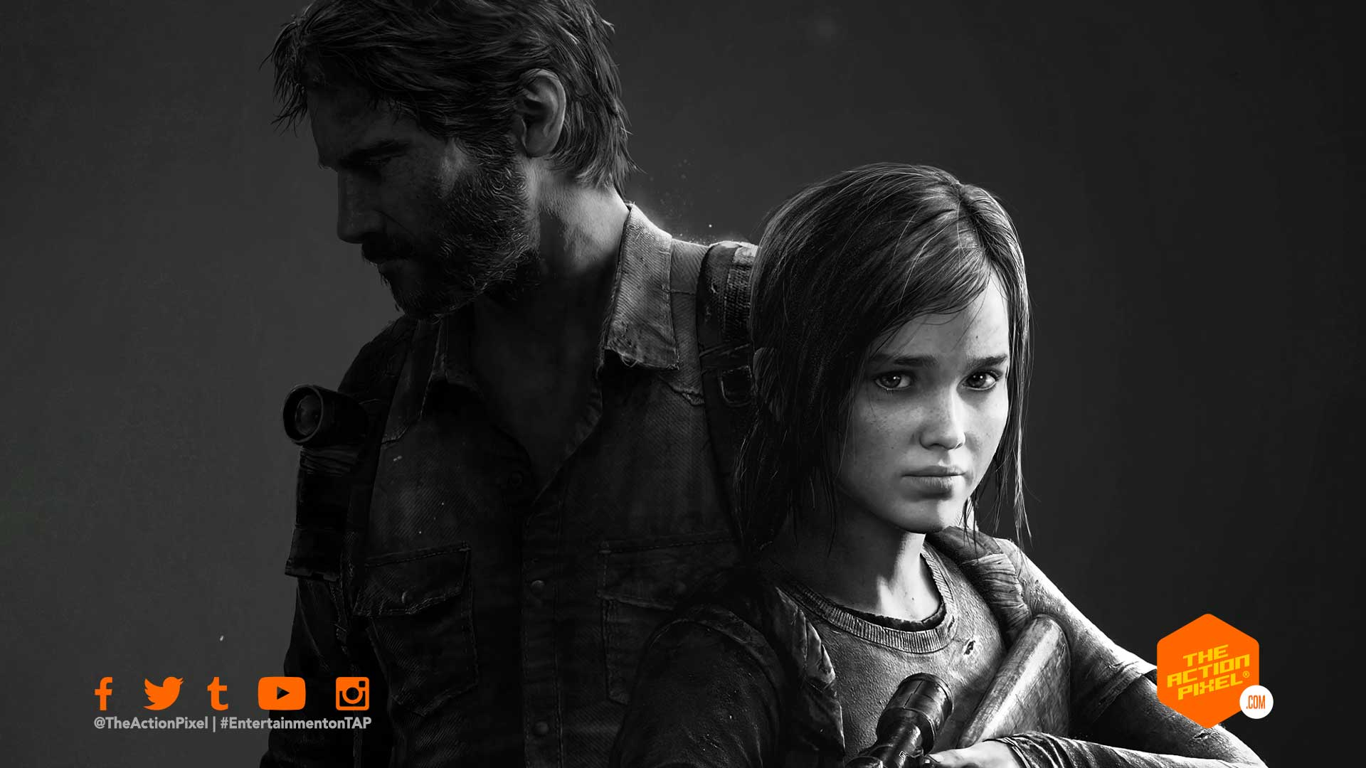 the last of us, hbo , hbo tv series, hbo the last of us, naughty dog, joel and ellie, ellie, joel miller,bella ramsey, game of thrones, pedro pascal , the mandalorian, the last of us casting, entertainment on tap, the action pixel, featured