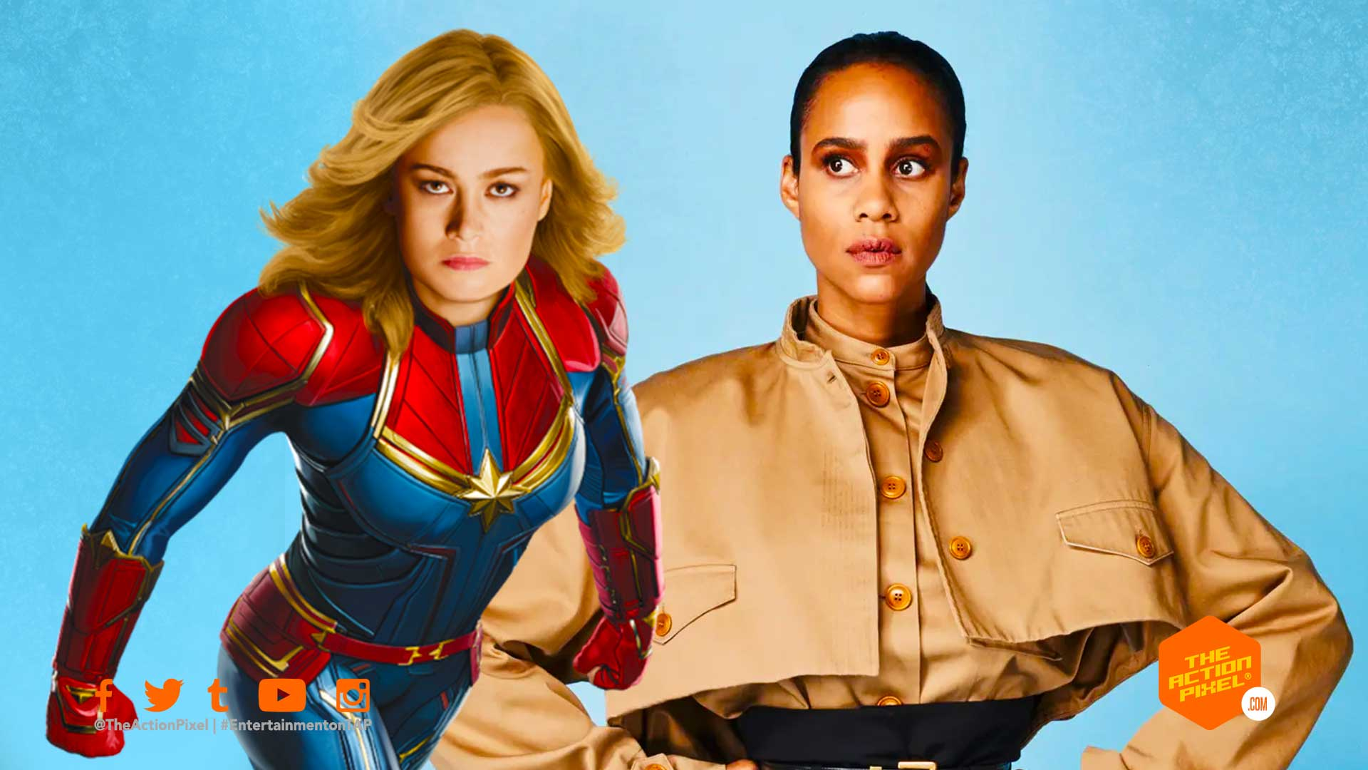 zawe ashton, captain marvel 2, captain marvel, the action pixel, entertainment on tap,marvel studios, marvel phase 4, brie larson, captain marvel , carol danvers, entertainment on tap, the action pixel, featured,