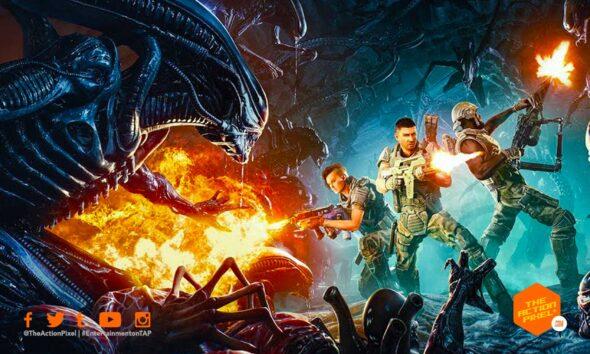 aliens: fireteam, ridley scott, aliens game, aliens fireteam game, aliens fireteam, cold iron, featured,