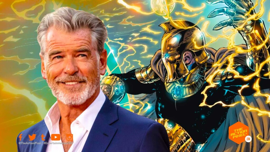 pierce brosnan, dr. fate, doctor fate, the action pixel, entertainment on tap, dwayne johnson, the rock , entertainment on tap, dc comics, dc movies, featured,