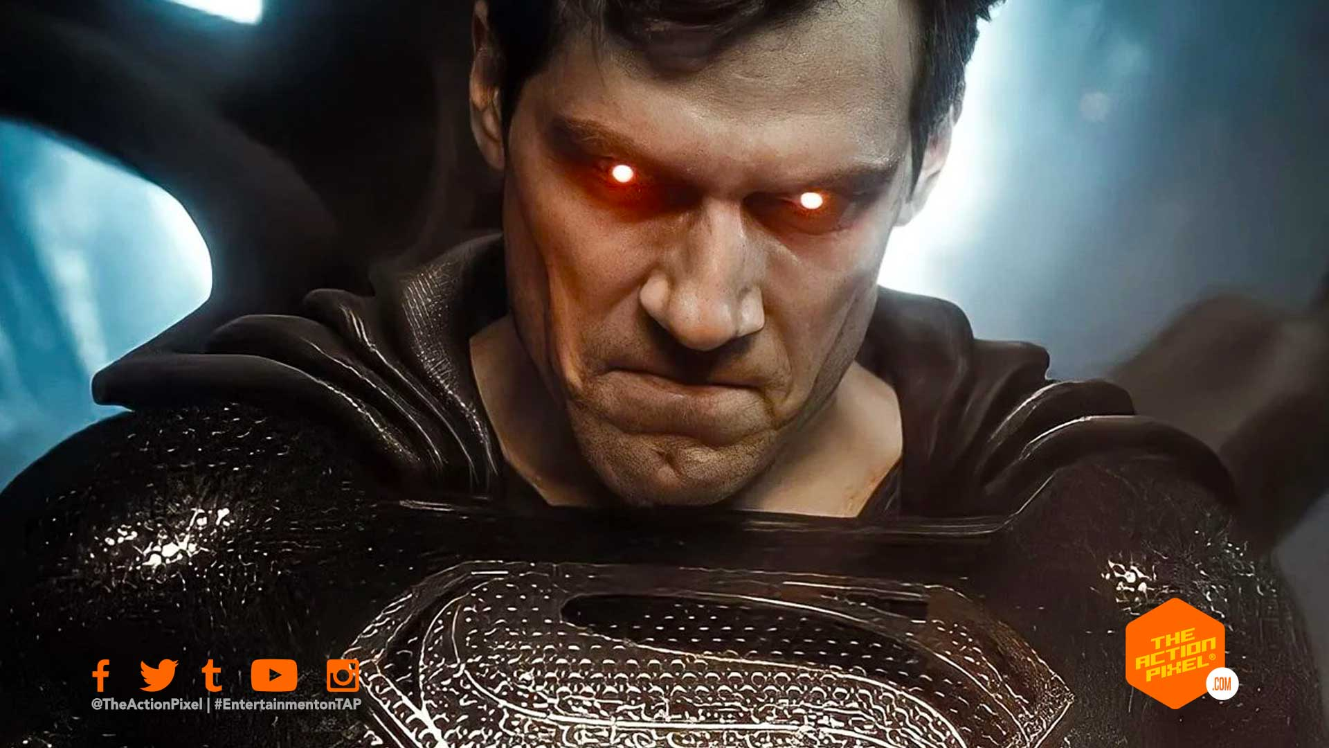 superman, snyder cut, Black suit, kal-el, clark kent, henry cavill, snyder's justice league, justice league, hbo max, entertainment on tap, featured