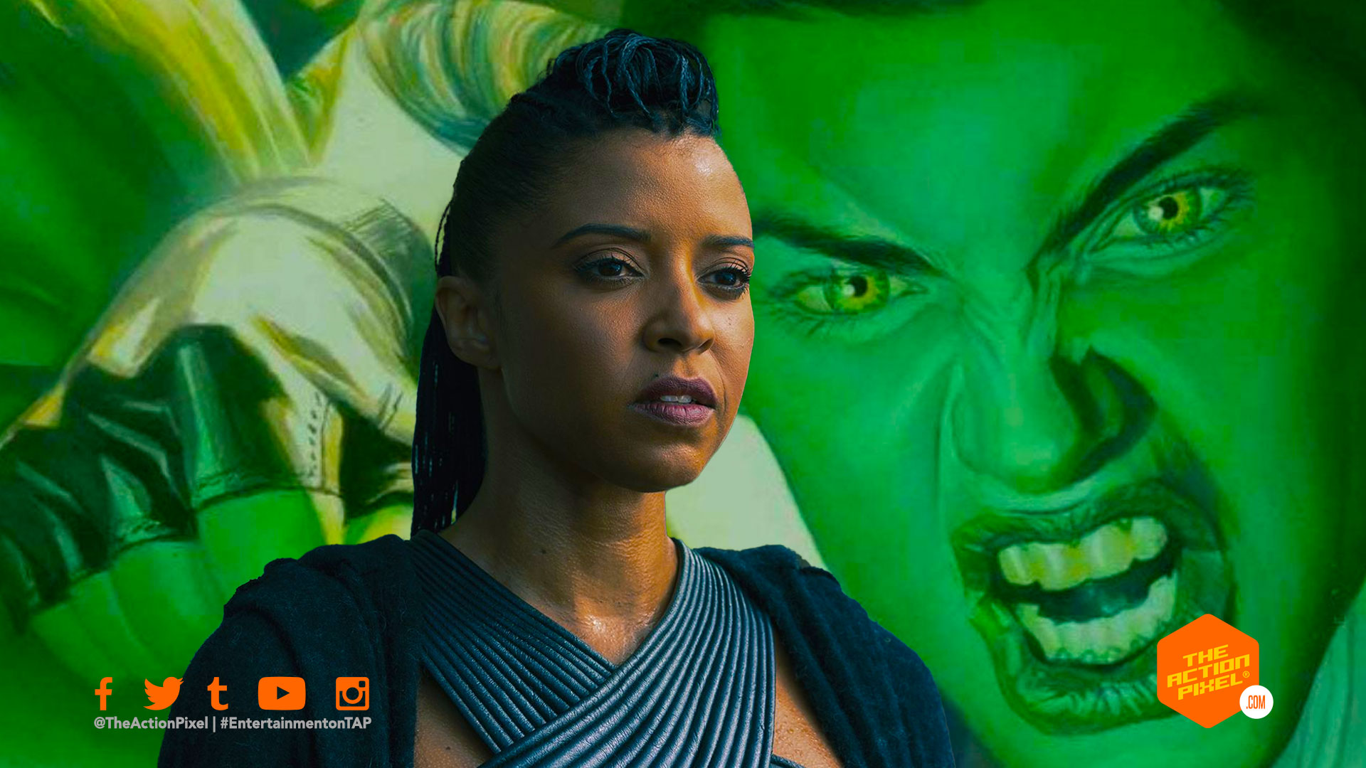 Renée Elise Goldsberry, she-hulk, she hulk, disney plus, disney+ ,disneyplus, marvel studios she-hulk,entertainment on tap, the action pixel,