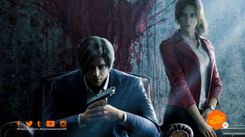 resident evil: infinite darkness, infinite darkness, resident evil, entertainment on tap, netflix, netflix resident evil, featured,  claire redfield, leon,