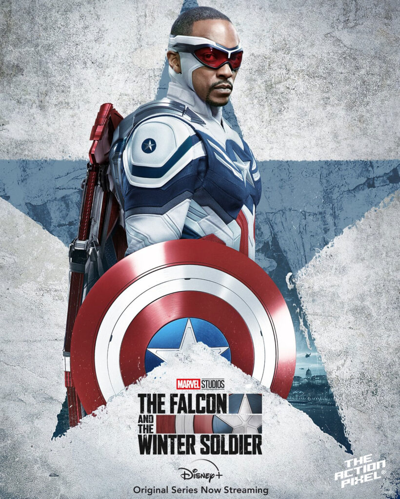 sam wilson, captain america, captain america shield, captain america 4, marvel studios, the falcon, marvel captain america, captain america sam wilson, the falcon and the winter soldier, entertainment on tap, the action pixel