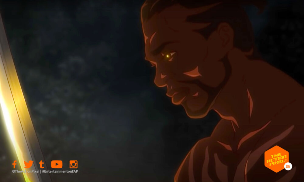 yasuke, yasuke netflix, netflix, netflix anime, yasuke anime, yasuke teaser trailer, yasuke teaser, entertainment on tap, the action pixel, featured,