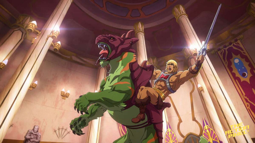 he-man, masters of the universe, motu,masters of the universe: revelation, masters of the universe revelation, netflix, netflix heman, netflix he-man, entertainment on tap,the action pixel,