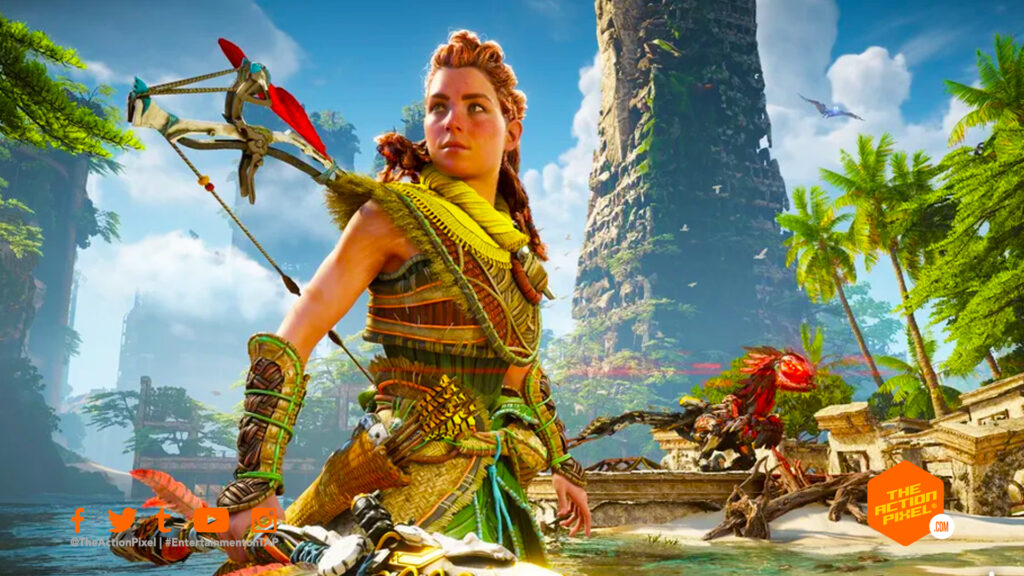 horizon forbidden west, aloy, the action pixel, gaming news, featured , entertainment on tap, playstation 5, ps5 capture, ps5, horizon zero dawn sequel, horizon 2, horizon forbidden west gameplay, the action pixel, entertainment on tap,