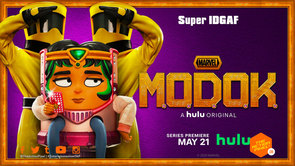 modok, m.o.d.o.k., hulu, marvel's modok, marvel's m.o.d.o.k., the action pixel, entertainment on tap, featured