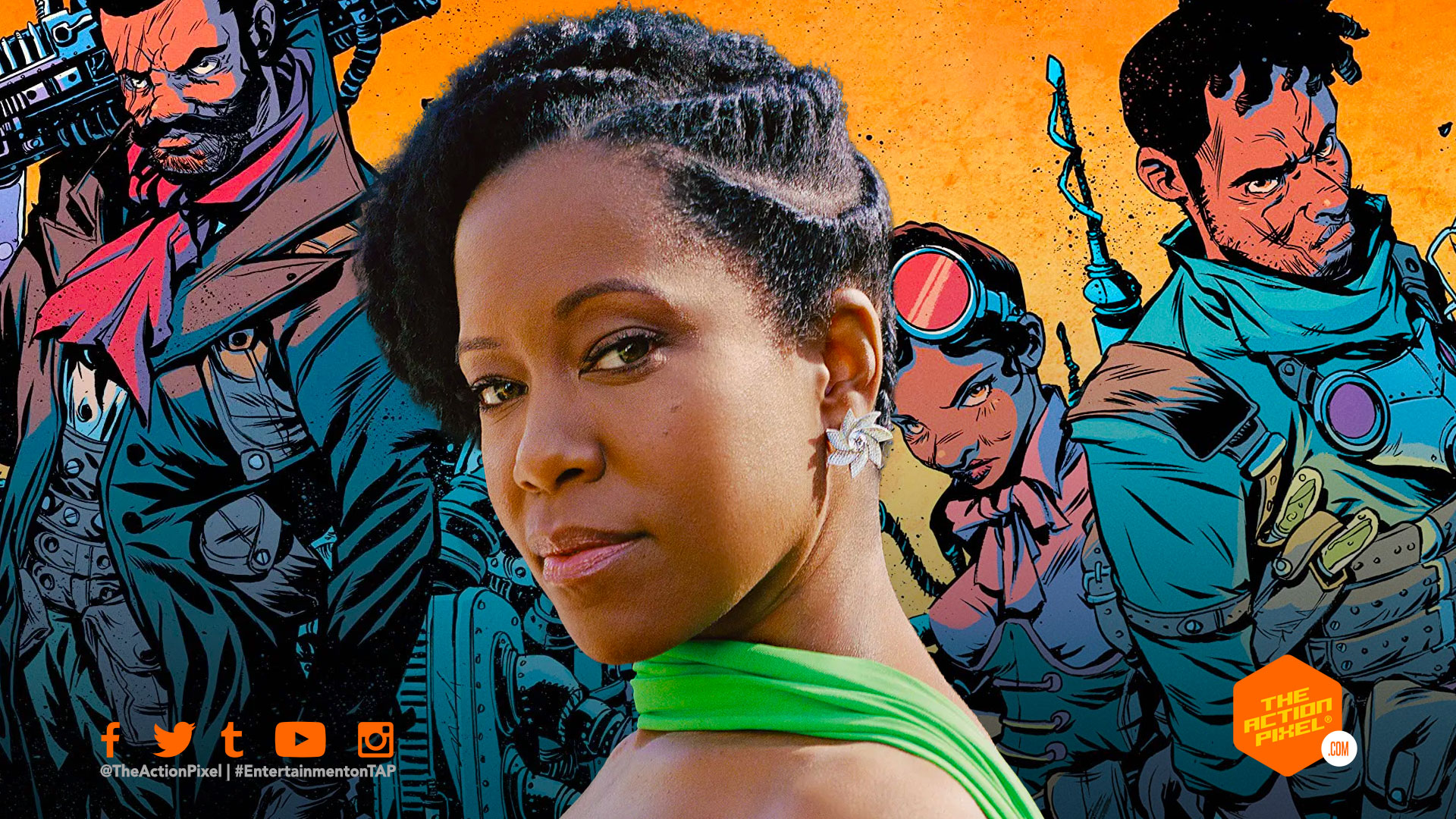 regina king, image comics, bitter root, Sangeryes, featured, entertainment on tap, the action pixel, featured,