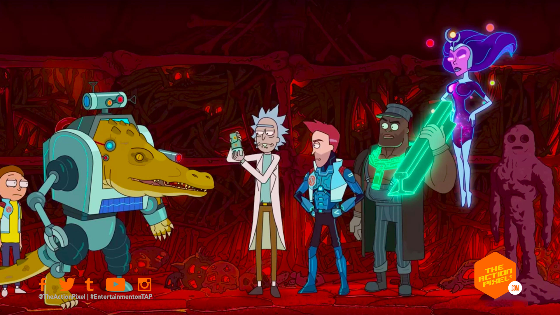 rick and morty, rick & morty, vindicators 3: return of the worldender, rick and morty episodes, rick and morty spinoff, the vindicators, entertainment on tap, the action pixel, featured, adult swim, rick sanchez, morty, entertainment news, featured,