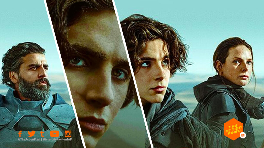 dune, dune movie, dune hbo max, hbo max, wb picture, warner bros pictures, the action pixel, entertainment on tap,
